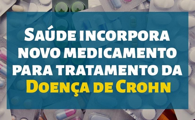 Saúde incorpora  o medicamento Certolizumabe Pegol para tratamento da Doença de Crohn