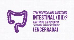Pesquisa Jornada do Paciente com DII ENCERRADA!
