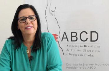 Convite da nossa presidente Dra. Marta Brenner Machado para a 11ª Caminhada para o Crohn e Colite