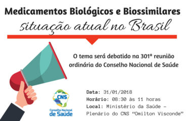 Medicamentos Biológicos e Biossimilares – situação atual no Brasil