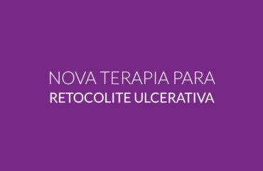 Nova terapia para retocolite ulcerativa